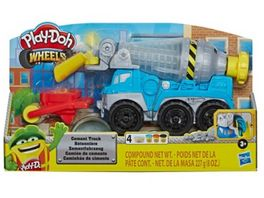 Hasbro Play Doh Wheels Zementlaster