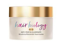 Pantene HAIR BIOLOGY Haarmaske Anti Frizz Illuminate 160ml