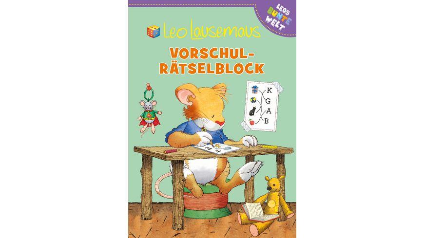 Leo Lausemaus Vorschul Raetselblock