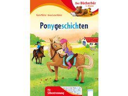 Ponygeschichten Der Buecherbaer 1 Klasse Mit Silbentrennung