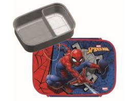Undercover Spider Man Brotdose mit herausnehmbarem Einsatz