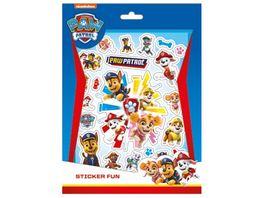 Undercover Paw Patrol Sticker Fun 8 Stickerblaetter