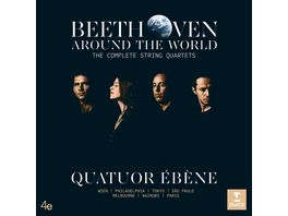 Beethoven Around the World Compl String Quartets