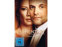 Elementary Season 7 3 DVDs