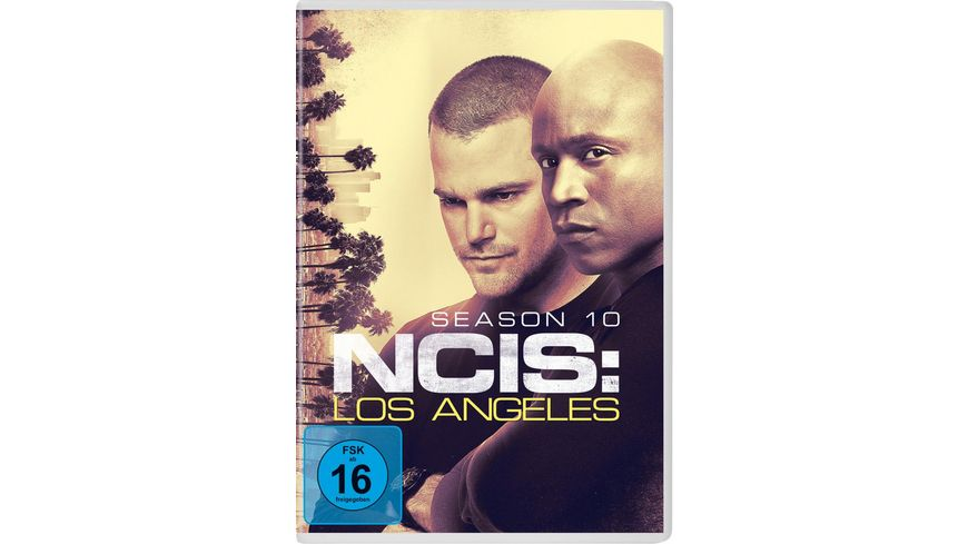Navy CIS Los Angeles Season 10 6 DVDs