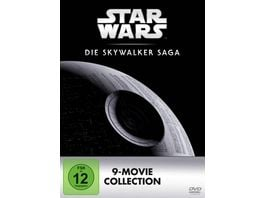 Star Wars 1 9 Die Skywalker Saga DVD Edition 9 DVDs