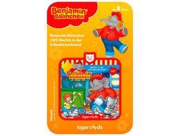 tigerbox tigercard Benjamin Bluemchen Nachts in der Erfinderwerkstatt Folge 141