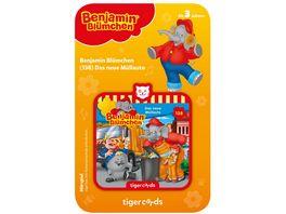 tigerbox tigercard Benjamin Bluemchen Das neue Muellauto