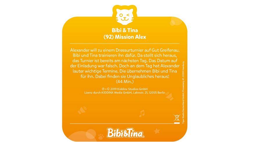 tigerbox tigercard Bibi Tina Mission Alex