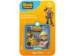 tigerbox tigercard Bob der Baumeister Baggi allein zu Haus