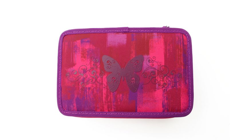 IN SCHOOL Schueleretui Triple Decker pink