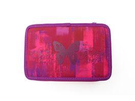 PAPERZONE Schueleretui Triple Decker Girl pink
