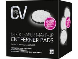 CV Mikrofaser Make Up Entferner Pads fuer eine porentiefe Reinigung ohne Reinigungsprodukte