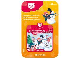 tigerbox tigercard Die 20 schoensten Weihnachtslieder