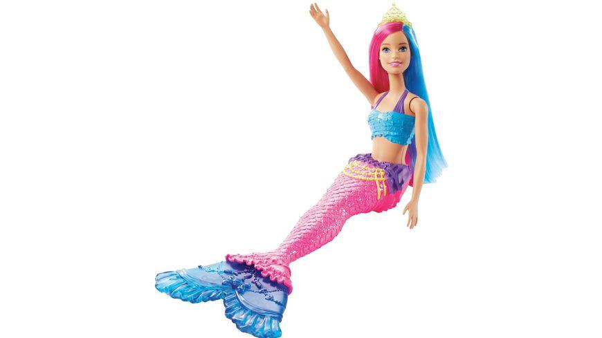 Mattel Barbie Dreamtopia Meerjungfrau Puppe pinkes und blaues Haar