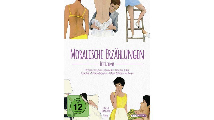 Eric Rohmer Moralische Erzaehlungen Digital Remastered 5 DVDs