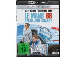 Le Mans 66 Gegen jede Chance 4K Ultra HD Blu ray 2D