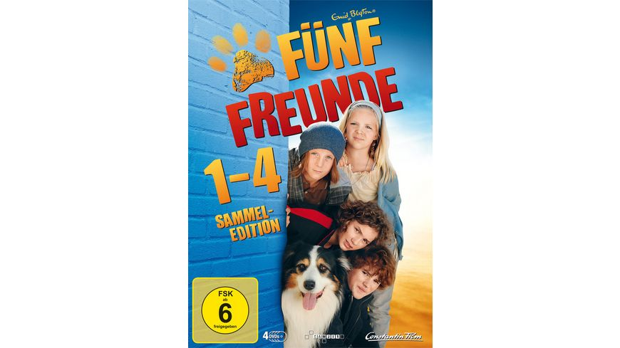 Fuenf Freunde 1 4 LE 4 DVDs