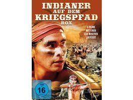 Indianer auf dem Kriegspfad Box 2 DVDs