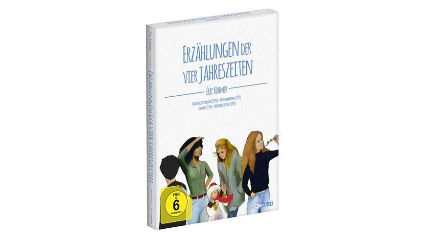 Eric Rohmer Erzaehlungen der vier Jahreszeiten Digital Remastered 4 DVDs
