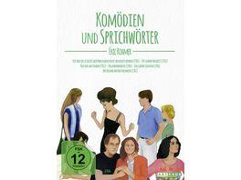 Eric Rohmer Komoedien und Sprichwoerter Digital Remastered 6 DVDs