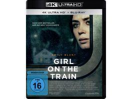 Girl on the Train 4K Ultra HD Blu ray