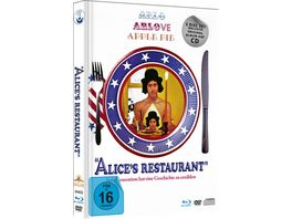 Alice s Restaurant Limited Deluxe Mediabook Edition Blu ray DVD CD Booklet