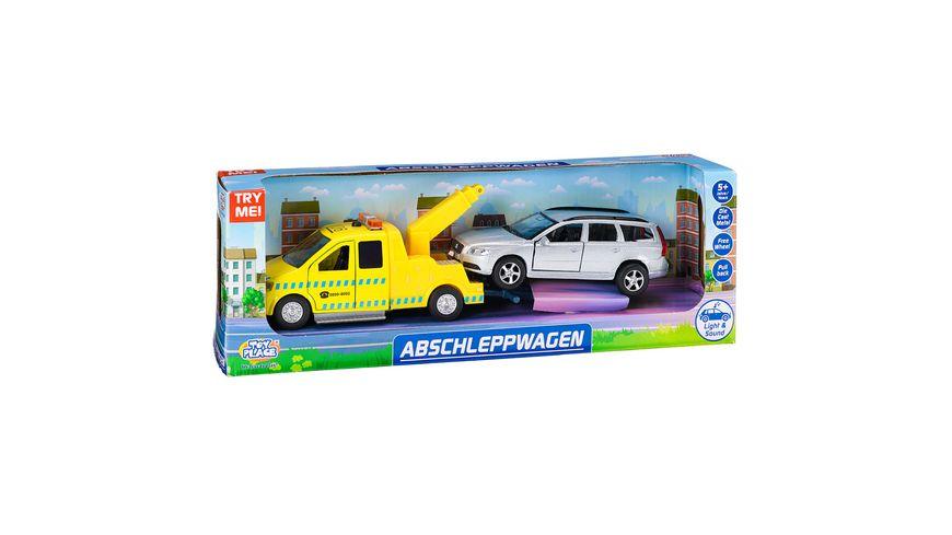 Müller - Toy Place - Die Cast Abschleppwagen-Spielset mit Licht und Sound