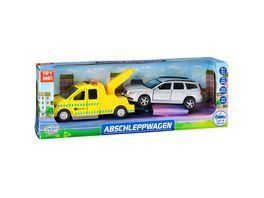 Mueller Toy Place Die Cast Abschleppwagen Spielset mit Licht und Sound