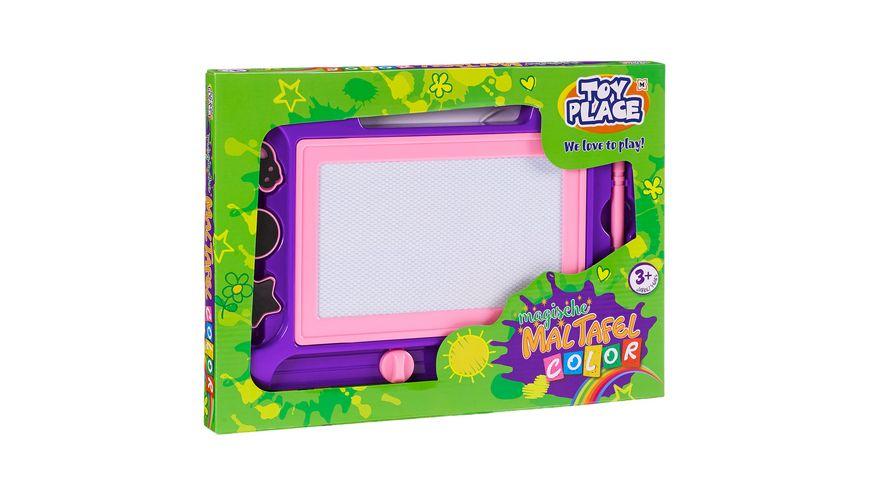 "Müller - Toy Place - Magische Maltafel ""Color"" lila/pink"