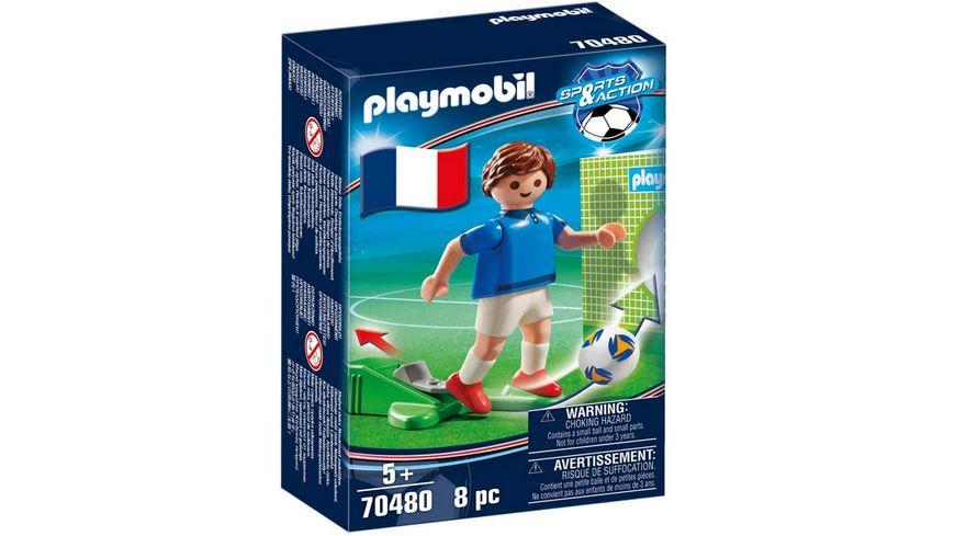 PLAYMOBIL 70480 - Sports & Action - Nationalspieler Frankreich