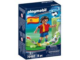 PLAYMOBIL 70482 Sports Action Nationalspieler Spanien