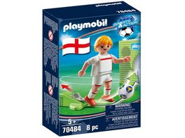 PLAYMOBIL 70484 Sports Action Nationalspieler England