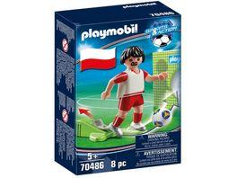 PLAYMOBIL 70486 Sports Action Nationalspieler Polen
