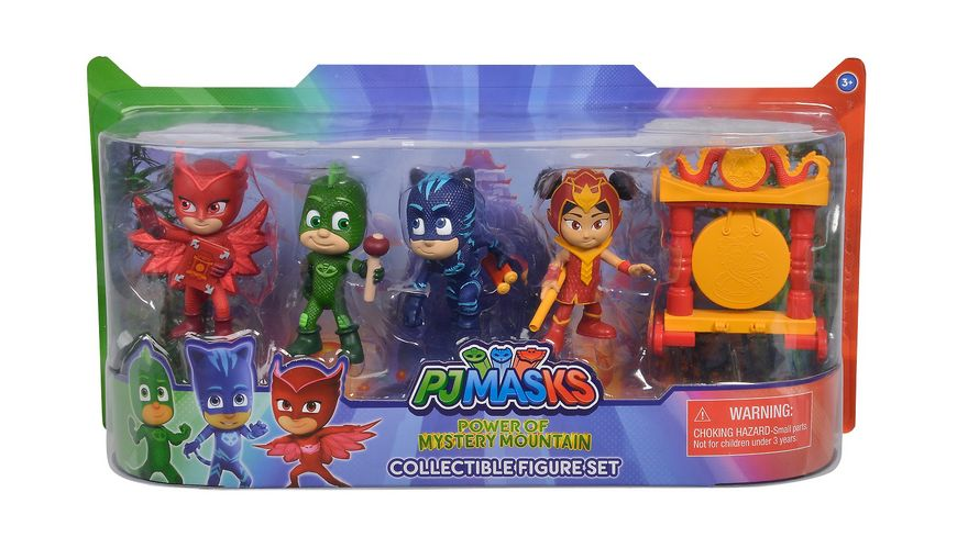Simba PJ Masks Pyjamahelden Figuren Set 5 er Pack
