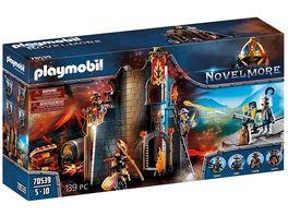 PLAYMOBIL 70539 Novelmore Burnham Raiders Feuerruine