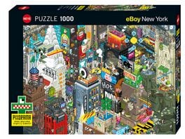 Heye Standardpuzzle 1000 Teile Pixorama New York Quest