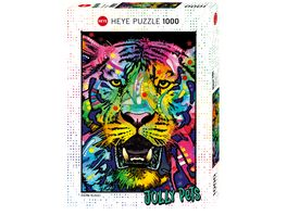 Heye Standardpuzzle 1000 Teile Jolly Pets Wild Tiger