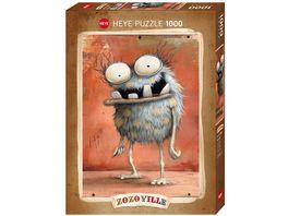 Heye Standardpuzzle 1000 Teile Zozoville Monsta Hi