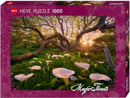 Heye Standardpuzzle 1000 Teile Magic Forests Calla Clearing