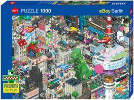 Heye Standardpuzzle 1000 Teile Pixorama Berlin Quest