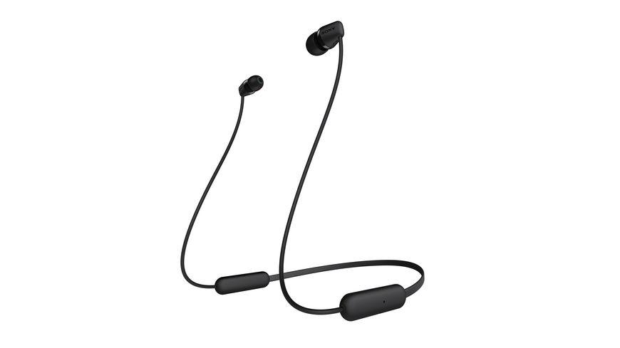 Sony Bluetooth Ohrhörer WI-C200 schwarz