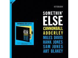 Somethin Else 180g LP Bonus CD
