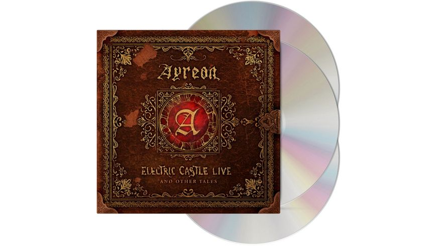 Electric Castle Live And Other Tales 2CD DVD