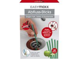 EASYmaxx Abflussreiniger Stick Apfel 50 Stueck