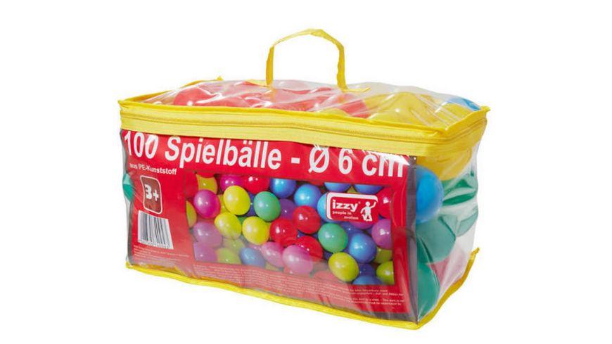 Izzy-Sport - 100 Spielbälle mit Tasche