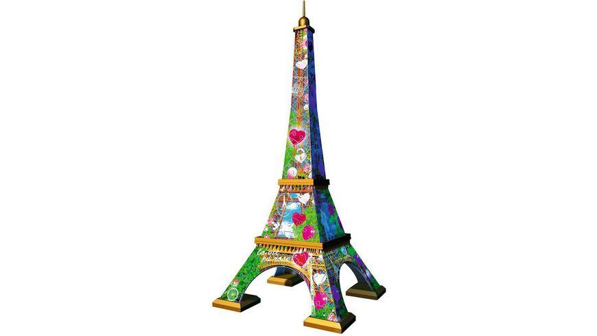 Ravensburger Puzzle 3D Puzzle Eiffelturm Love Edition