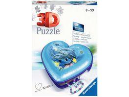 Ravensburger Puzzle 3D Puzzle Organizer Herzschatulle Unterwasserwelt