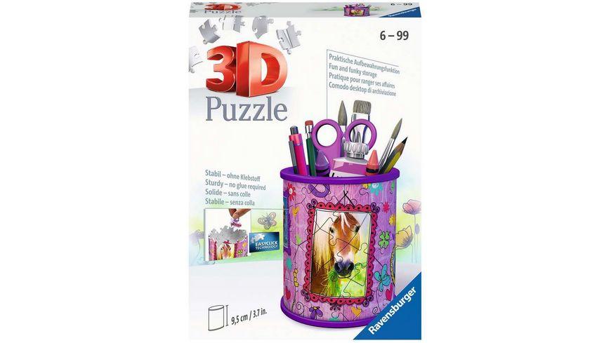 Ravensburger Puzzle 3D Puzzle Organizer Utensilo Pferde