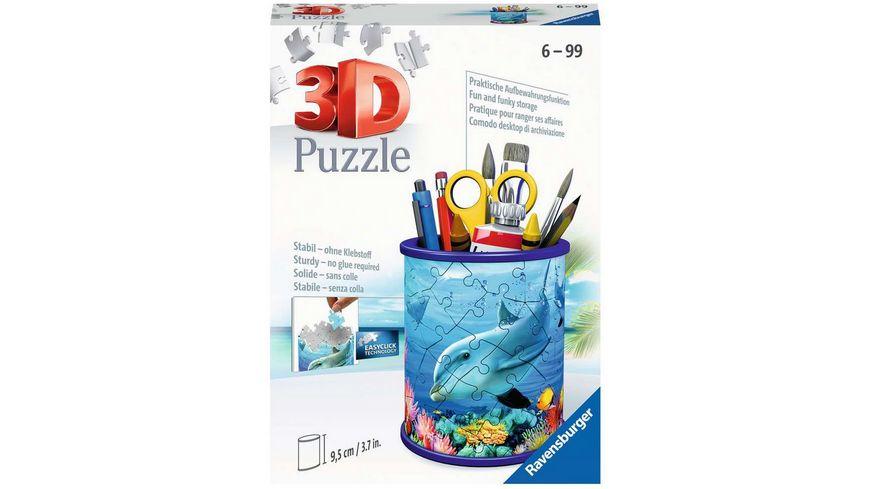 Ravensburger Puzzle - 3D Puzzle-Organizer - Utensilo Unterwasserwelt